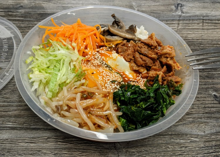 Spicy Pork Bimimbap - Korea House