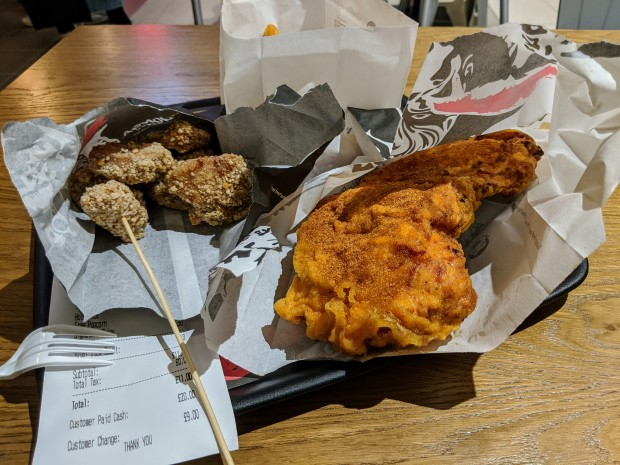 Hot Chick & Taiwanese Popcorn Chicken - Monga - Nottingham